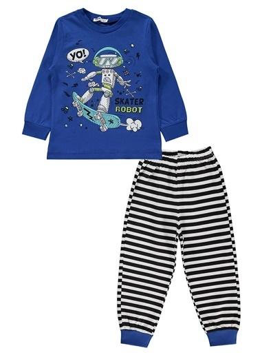 Civil Boys Civil Boys Erkek Çocuk Pijama Takimi 2-5 Yaş Saks Mavisi Civil Boys Erkek Çocuk Pijama Takimi 2-5 Yaş Saks Mavisi Renkli